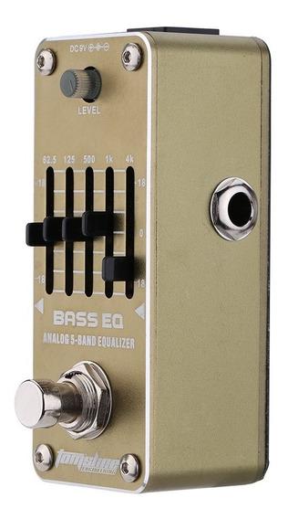Aroma Aeb-3 Bass Eq Analgico Equalizador De 5 Bandas