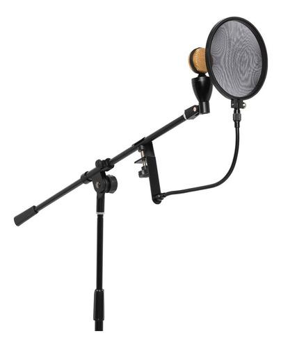 Imagen 1 de 4 de Pantalla Stagg Antipop Para Microfono Condenser Anti Pop