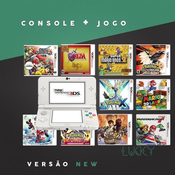 Nintendo 3ds + Jogos Instalados!
