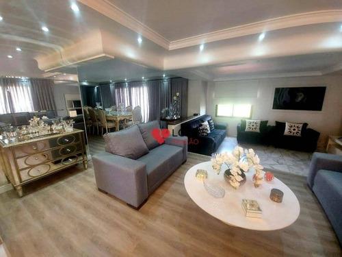 Imagem 1 de 30 de Apartamento Alto Padrão Parque Da Mooca - Ap3477