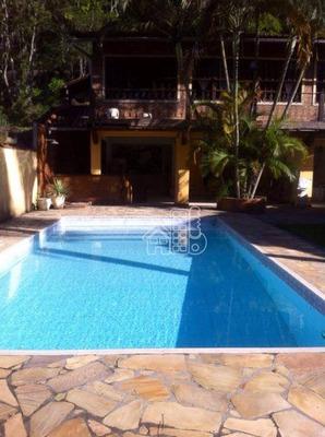 Casa Residencial À Venda, Maceió, Niterói. - Ca0410