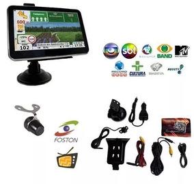 Gps Foston 7 Tv Digital Câmera De Re Avisa R