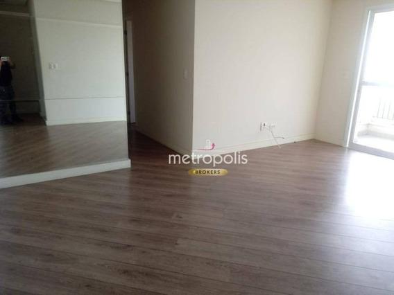 Apartamento Com 2 Dormitórios À Venda, 70 M² Por R$ 495.000 - Olímpico - São Caetano Do Sul/sp - Ap2559