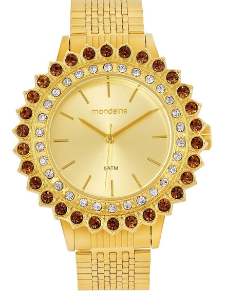 Relógio Feminino Mondaine 99173lpmvde1 Dourado