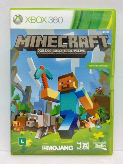 Jogo Minecraft Edition Xbox 360 Port.original Com Garantia