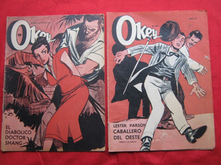 Revistas Okey Números Sueltos