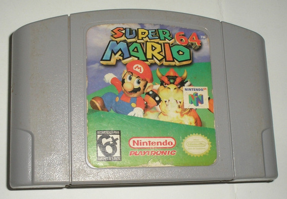 Super Mario 64 Original Nacional