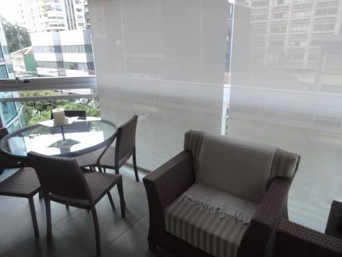 Apartamento Com 4 Dormitórios À Venda, 200 M² Por R$ 1.390.000,00 - Gonzaga - Santos/sp - Ap2784
