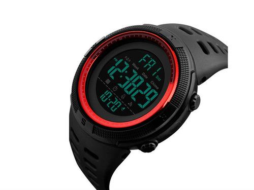 Reloj Skmei 1251 Rojo Digital Deportivo Y Regalo