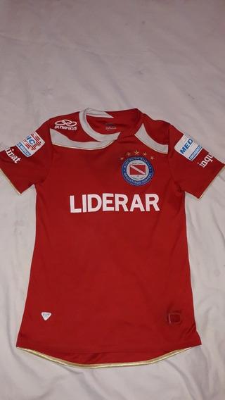 Camiseta Ca Argentinos Jrs. Olympikus 2012 Niño 12/14