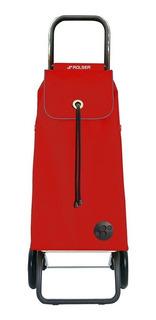 Carrito Plegable Para Mandado Plegable Color Rojo Rolser