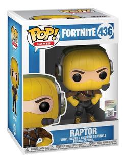 Funko Pop Fortnite 436 Raptor Original Nuevo Magic4ever
