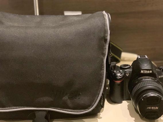 Nikon D3000 Com Lente 18-55mm