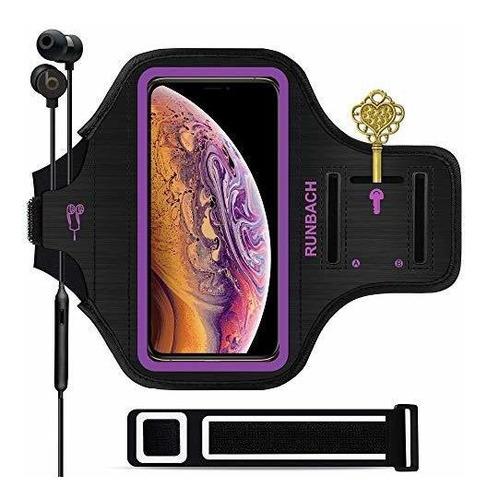 Brazalete Runbach iPhone 11 / iPhone XR, Bolsa De Ejercicio
