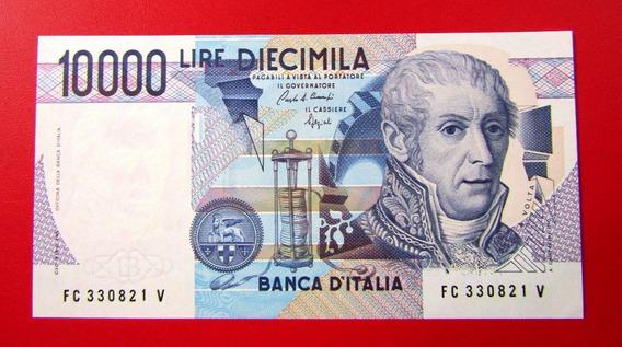 Italia Billete 10000 Liras P-112 B Unc 1984