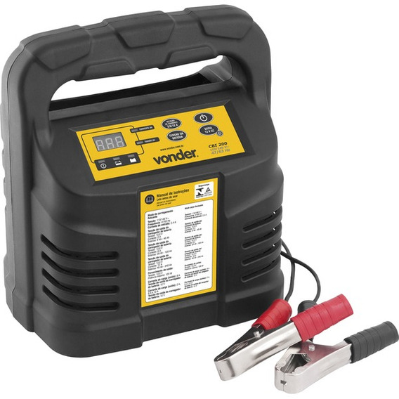 Carregador Inteligente De Bateria 6-240ah 127volts Cib 200