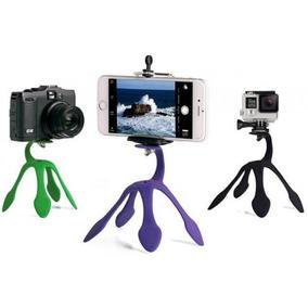 Suporte Flexivel Para Celular E Camera Fotografica - Cores