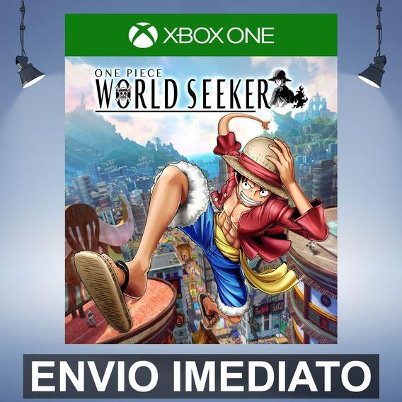 One Piece World Seeker - Xbox One Código 25 Dígitos