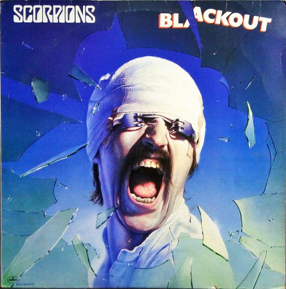 Scorpions Lp 1982 Blackout