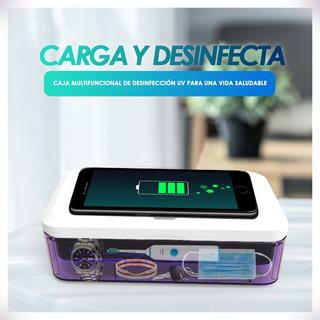 Esterilizador Uv Germicida + Cargador Celulares - Accesorios