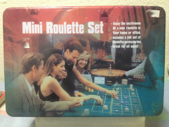 Jogo - Mini Roulette Set - Importado