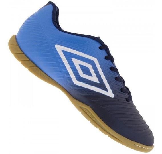 Tênis Umbro Futsal Masculino Fifty Iii - Marinho/azul