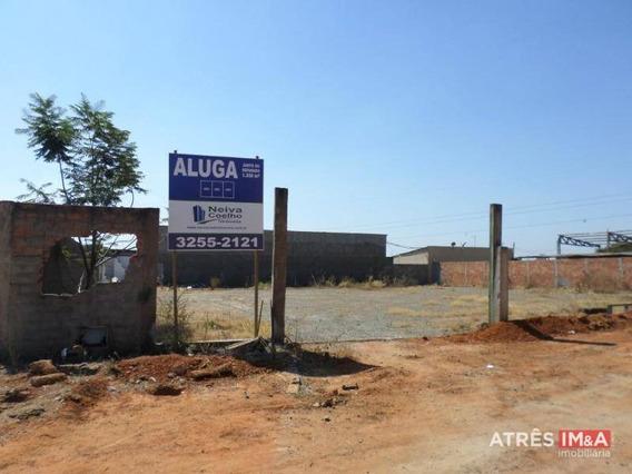 Terreno Para Alugar, 480 M² Por R$ 1.100,00/mês - Setor Faiçalville - Goiânia/go - Te0002