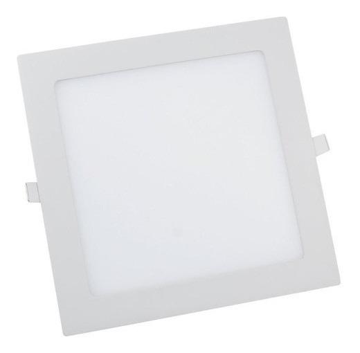 Plafon Led Quadrado 30x30 32w Classe Aaa Luminária Embutir
