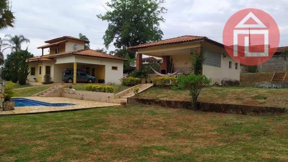 Chácara Com 4 Dormitórios À Venda, 2000 M² Por R$ 790.000 - Chácara Alvorada - Bragança Paulista/sp - Ch0201