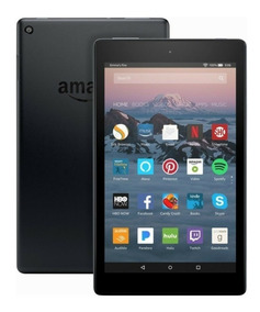 Tablet Amazon Fire Hd8 32gb Wi-fi Alexa Tela 8 Preto