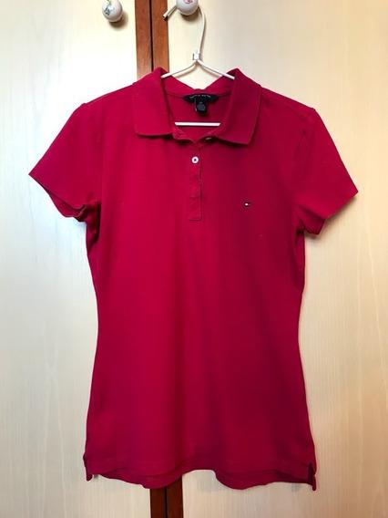 Camisa Tommy Hilfiger Original Importada Botões Henley Polo