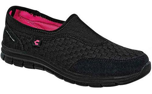 Charly Zapato Comodo Sintético Negro Dama Cerrado C03875 Udt