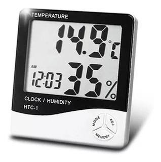 Reloj Higrometro Medidor Humedad Temperatura Digital Sensor
