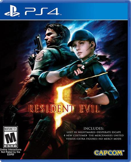 ..:: Resident Evil 5 ::.. Para Playstation 4 En Game Center