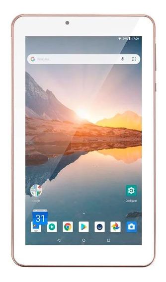 Tablet Multilaser M7s Plus Wi-fi 7 Pol 16gb 1gb Rosa Nb300