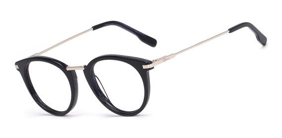 Armação Oculos Ogrife Og 758-m Feminino Com Lente Sem Grau