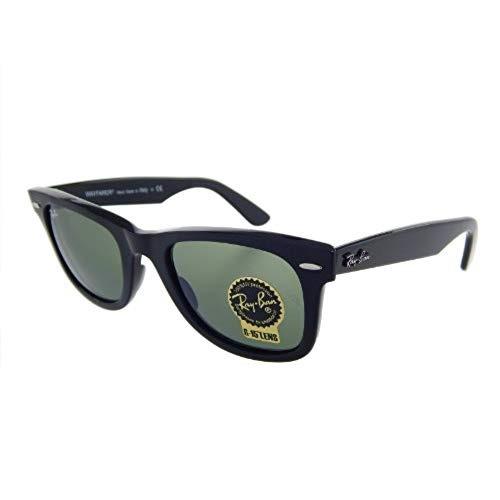 116c9e87c4 Gafas De Sol Ray Ban Rb2140 901 Wayfarer Negro / Cristal ...