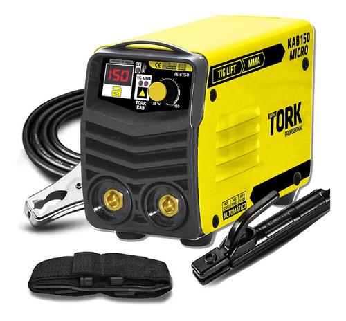 Maquina Solda Inversora 150a 220v Super Tork Kab150