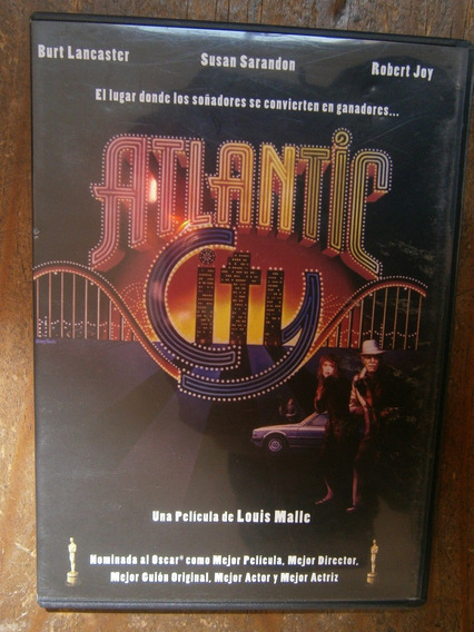 Atlantic City Dvd Louis Malle Burt Lancaster Susan Sarandon