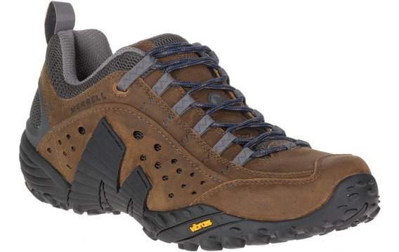 Zapatos Hombre Merrell Intercept Dark Earth Hiking Y Trek