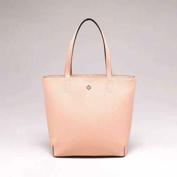 Bolsa Shopper Preta/rosa