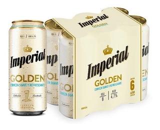 Cerveza Imperial Golden 473ml Pack X6 - Berlin Bebidas