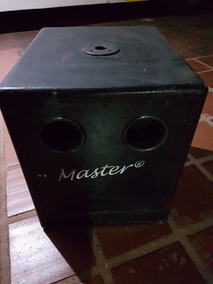Sub Passivo 15 Polegadas Marca Master 600wts