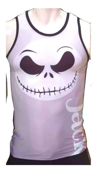 Camiseta Gym Entrenamiento Extraño Mundo Jack Nightmare Before Christmas X2z
