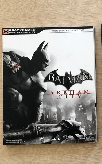 Guia Oficial - Batman Arkham City (inglês)