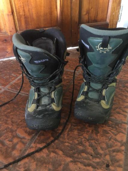 Botas Snowboard Hombre 43 Air Walk Casi Nuevas Una Temporada