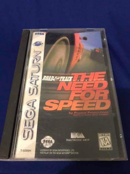 Need For Speed Sega Saturn Americano Completo - V443