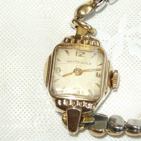 Relógio Pulso Feminino Corda Wittnauer 17 Rubis.