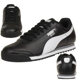 Puma Roma Basic Black White Silver 353572 11