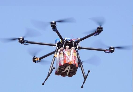 Drone Profissional Hexa T960 Capacidade Para 7kg